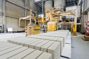 Kalksandsteine bei Emsländer Baustoffwerken